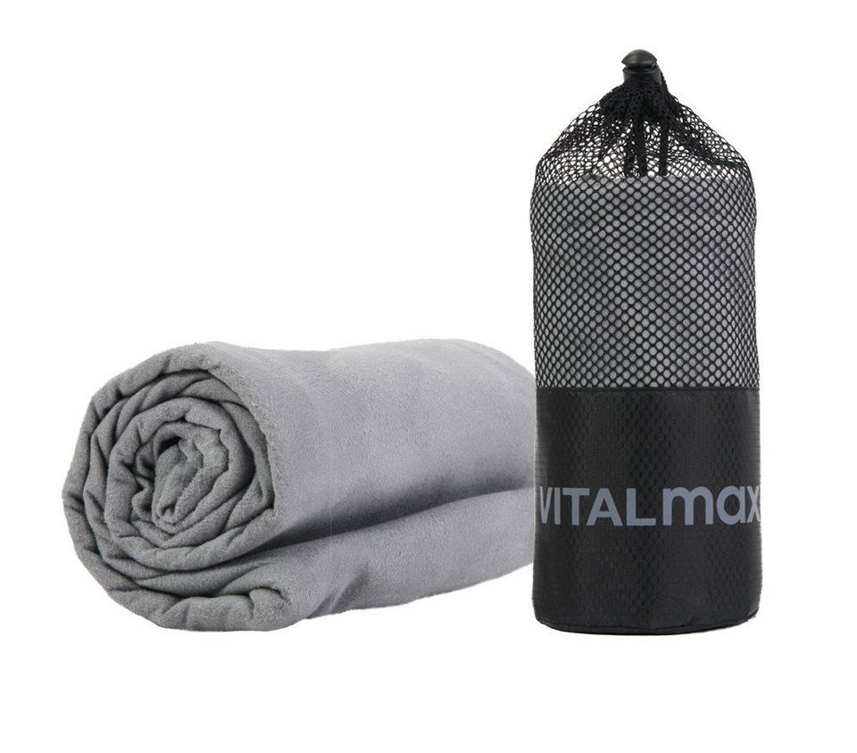 Vitalmaxx Mikrofaser-Tuch Sporthandtuch Fitness Travel Reise-Handtuch 130 x 80