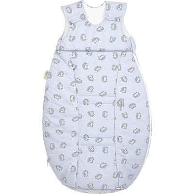 Odenwälder Babyschlafsack »Jersey-Schlafsack Airpoints, Igel grey«