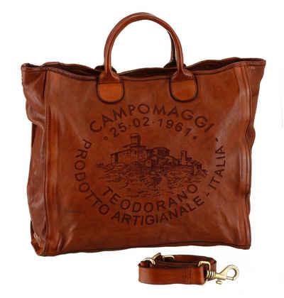Campomaggi Shopper »Zamia«, mit großem Logo Print