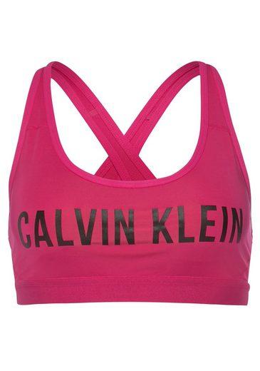 Calvin Klein Performance Sport-Bustier »LOW SUPPORT BRA« mit Trägern für mittelstarken Halt