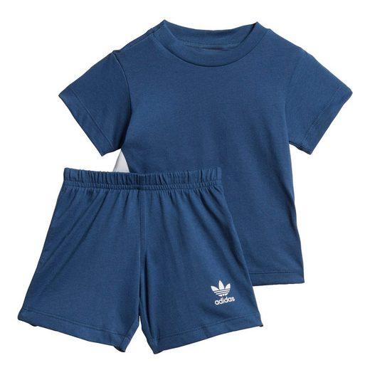 adidas Originals Trainingsanzug »Big Trefoil Shorts und T-Shirt Set«