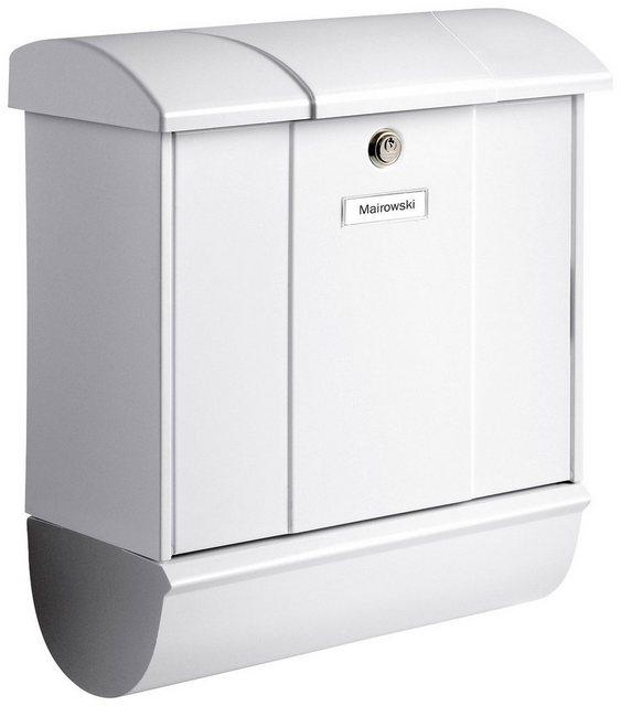 Burg-Wächter Briefkasten Olymp-Set 91600 W mit Zeitungsbox