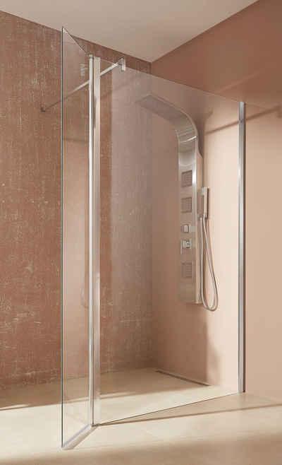 welltime Walk-in-Dusche »Mailand«, Einscheibensicherheitsglas, Breite 120 cm, Duschabtrennung