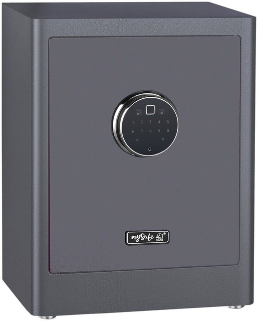 BASI Möbeltresor »mySafe Premium 450 - Code & Fingerprint«, Elektronikschloss mit Code und Fingerprint
