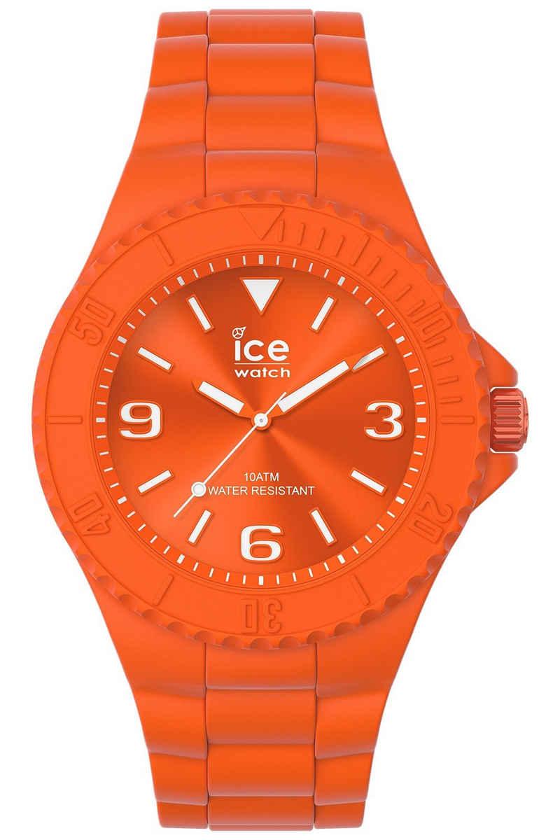 ice-watch Quarzuhr »Armbanduhr ICE Generation M Knallorange«