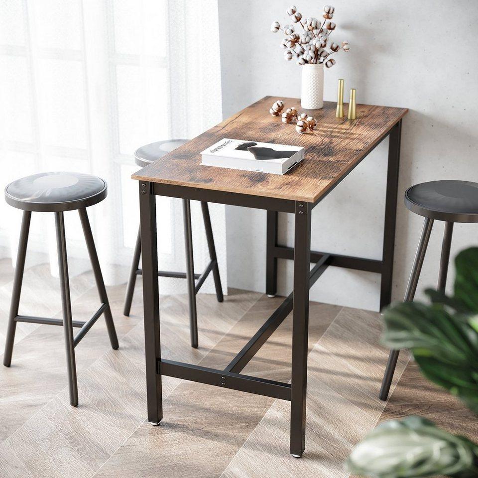 VASAGLE Bartisch »LBT9X«, Holztisch, Esstisch, Küchentisch, Tisch für  Cocktails, Küche, vintage online kaufen   OTTO