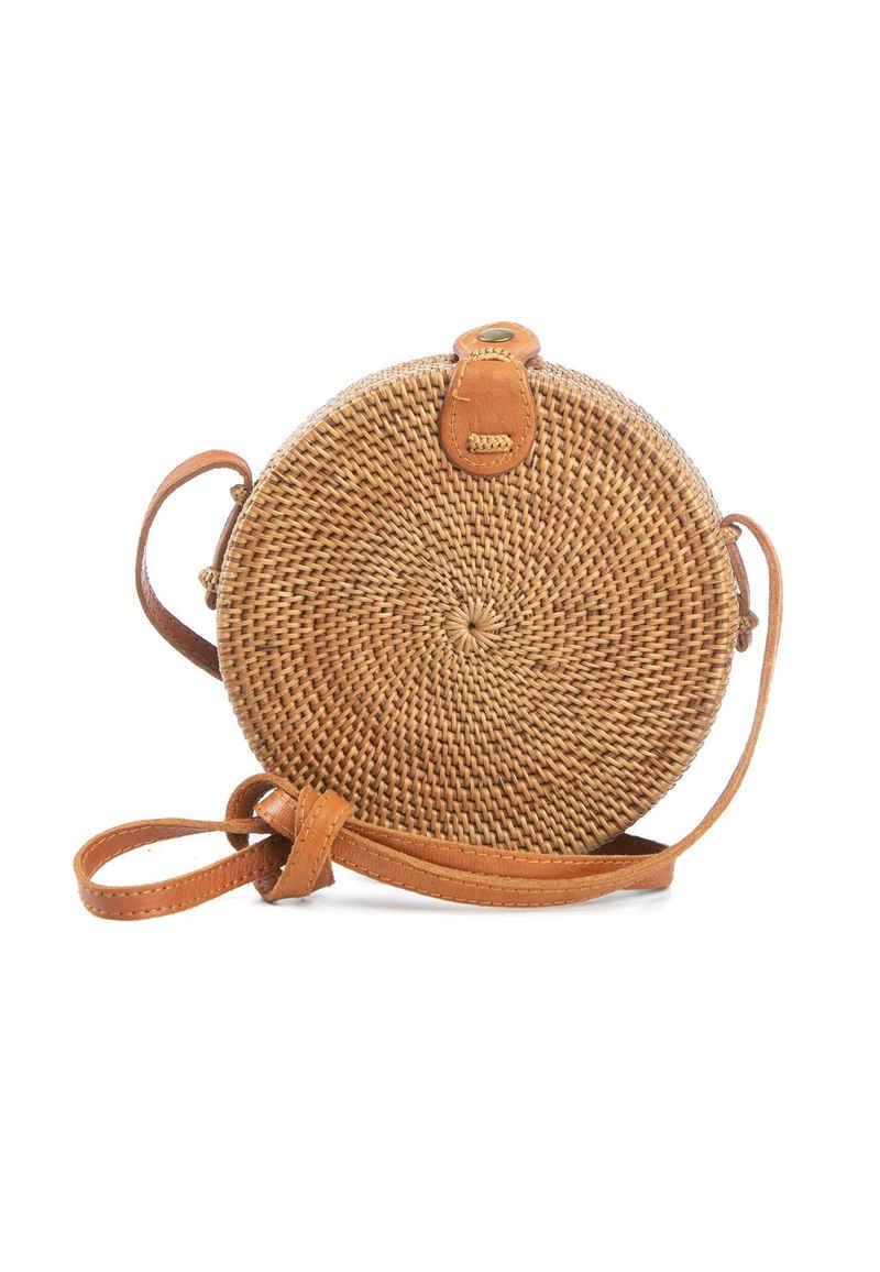 CASSANDRA Korbtasche in runder Form »Bali Bag«