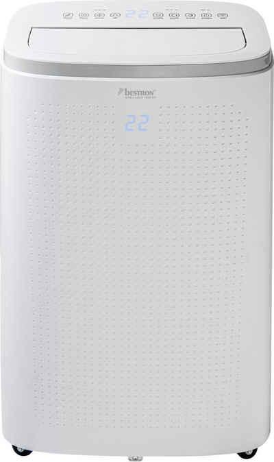 bestron Klimagerät AAC14000WF, für Räume bis 55m², Klimagerät mit App + Sprachsteuerung via WiFi, Touch-Bedienfeld und Fernbedienung, Kühlleistung 4,1 kW mit umweltfreundlichen Kühlmittel,14.000 BTU/h