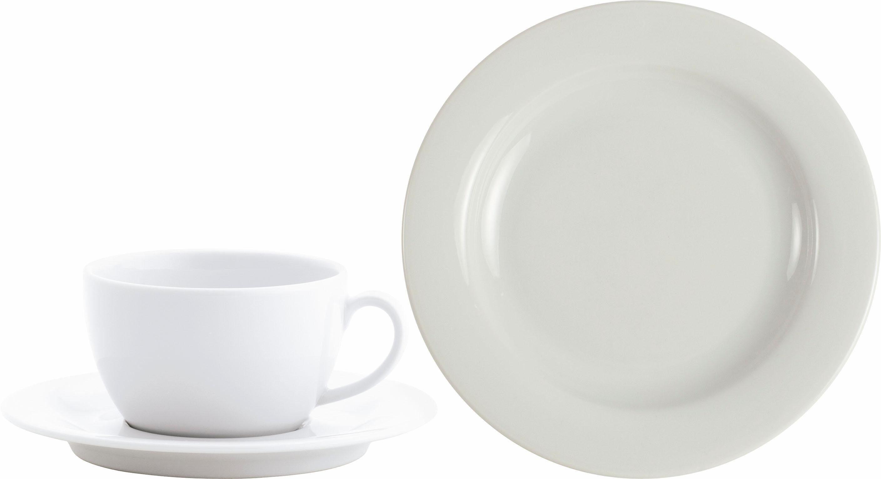 Kahla Kaffeeservice, Porzellan, 18 Teile, »PRONTO«