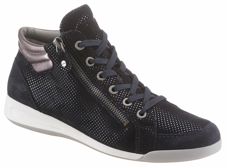 Ara Sneaker, mit gepolstertem Schaftrand kaufen  dunkelblau-bronzefarben