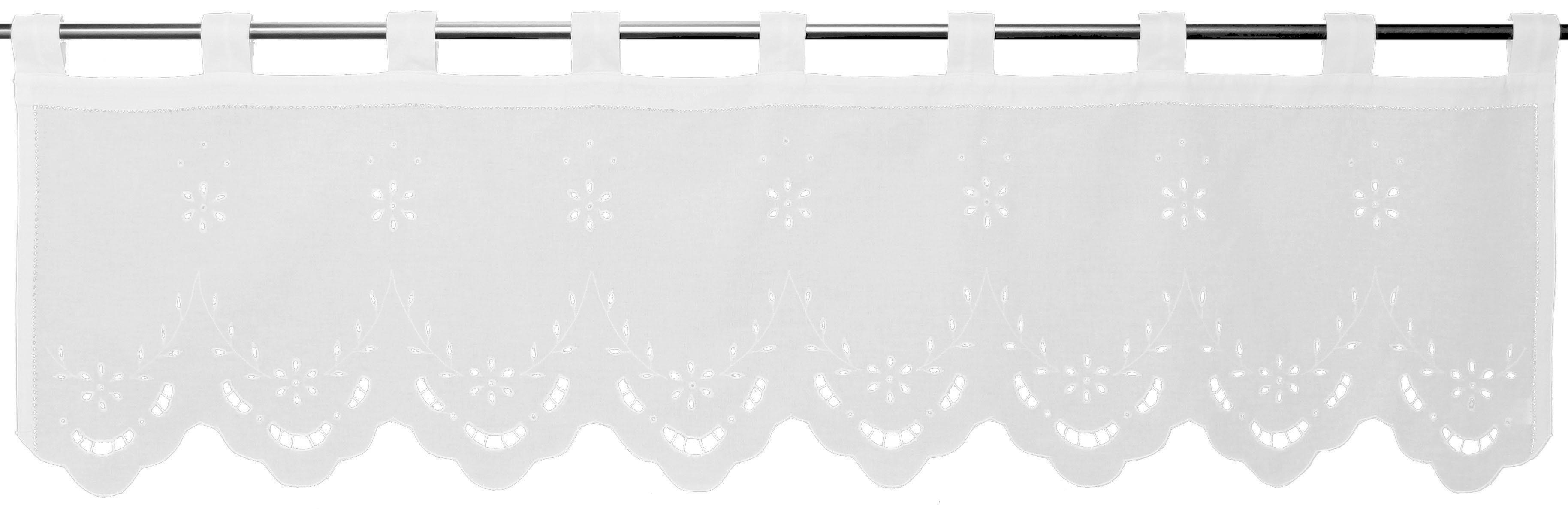 Querbehang »Ortler«, Hossner, Schlaufen (1 Stück)