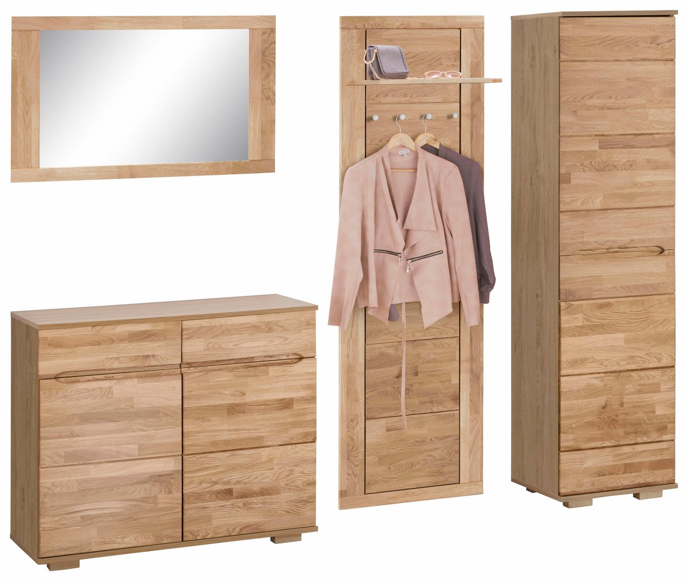 garderobe buche massiv garderobe teil massiv buche leinkenjost serie 600 garderobe buche. Black Bedroom Furniture Sets. Home Design Ideas