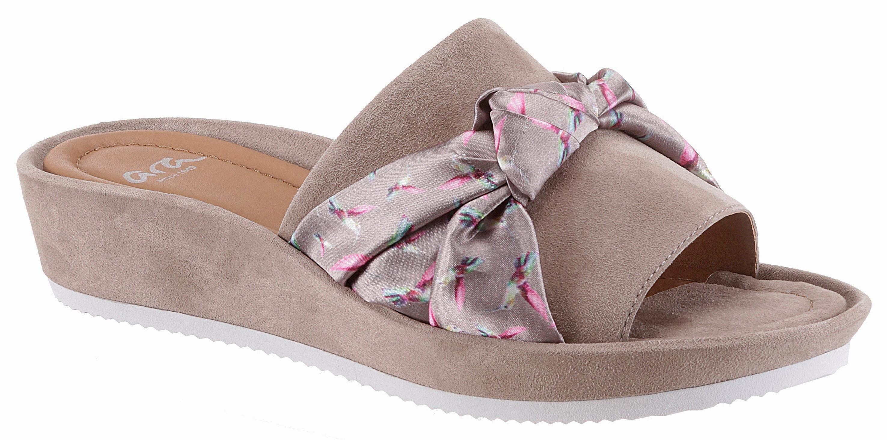 Ara Pantolette, mit Schleifen-Applikation kaufen  taupe-pink