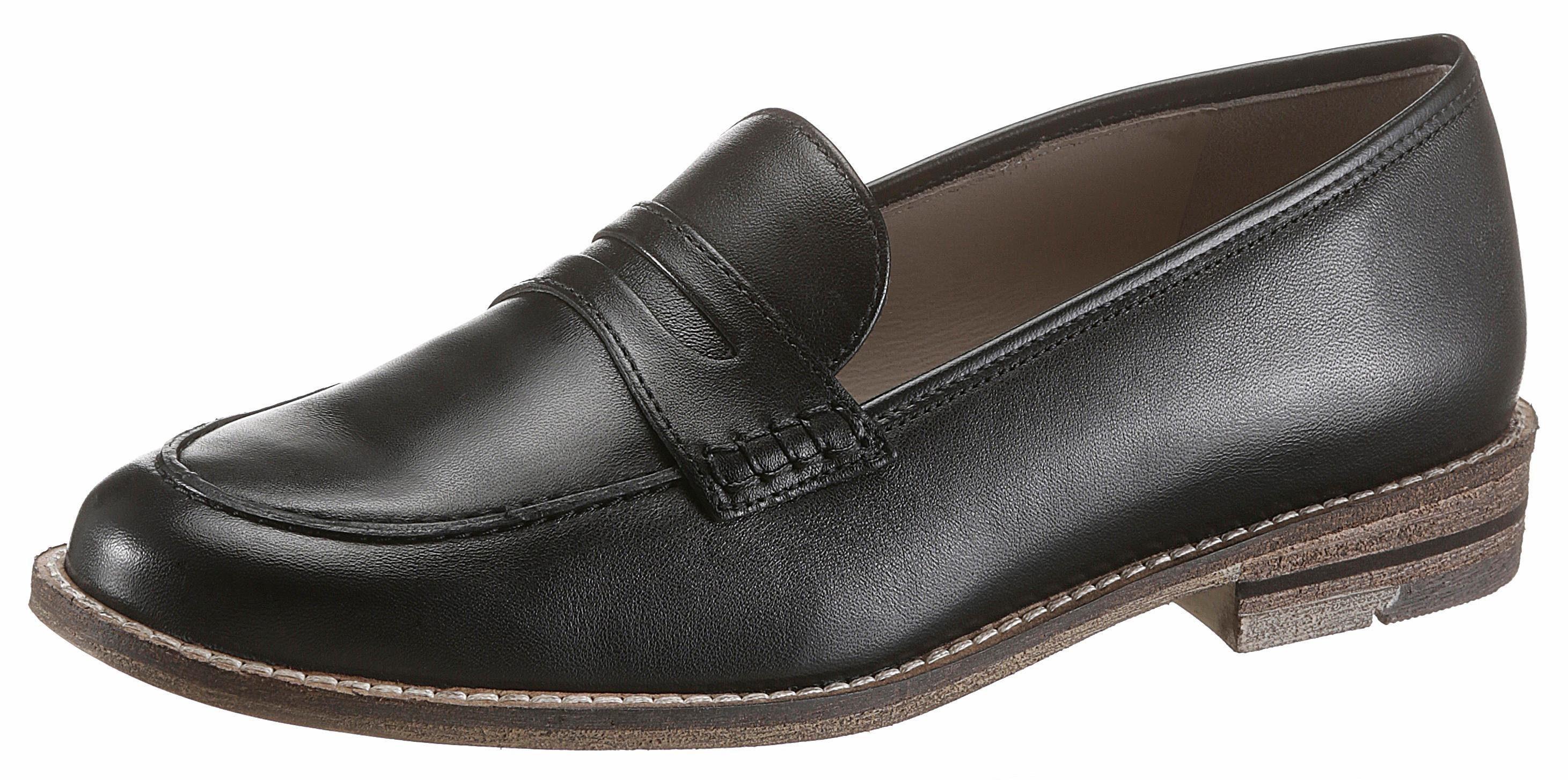 Ara Loafer, in schmaler Schuhweite online kaufen  schwarz