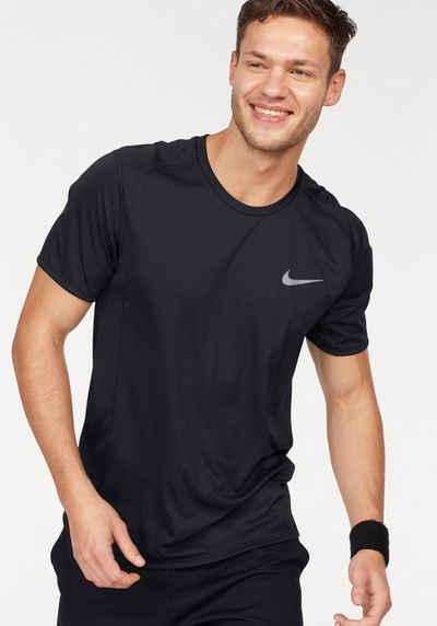 Nike Laufshirt »MEN NIKE DRY MILER TOP SHORTSLEEVE«