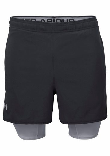 Under Armour® 2-in-1-Shorts UNDER ARMOUR QUALIFIER 2-IN-1 SHORT