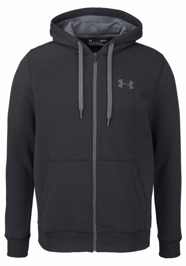 Under Armour® Kapuzensweatjacke RIVAL FITTED FULL ZIP