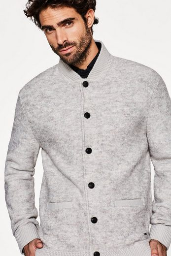 ESPRIT COLLECTION Sportiver Cardigan mit Alpaka