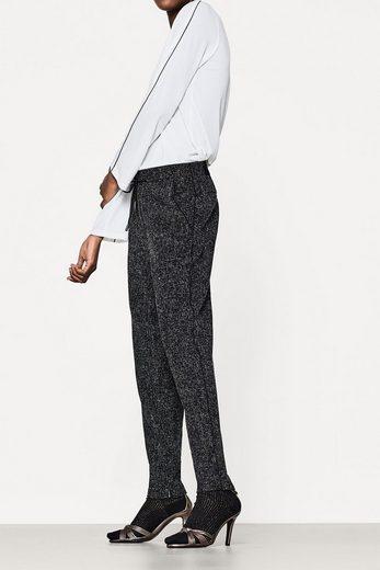 ESPRIT COLLECTION Jogg-Pants mit Struktur und Ziernähten