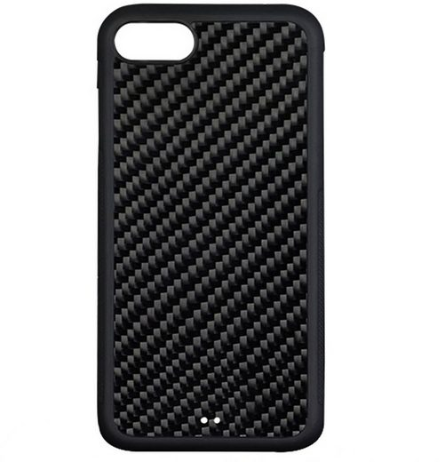 4smarts Handytasche »Hard Cover Trendline Carbon Apple iPhone SE/7/8«