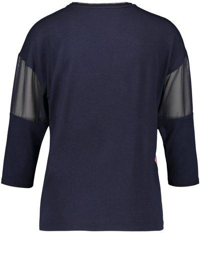 Gerry Weber T-Shirt 3/4 Arm Oversize-Shirt