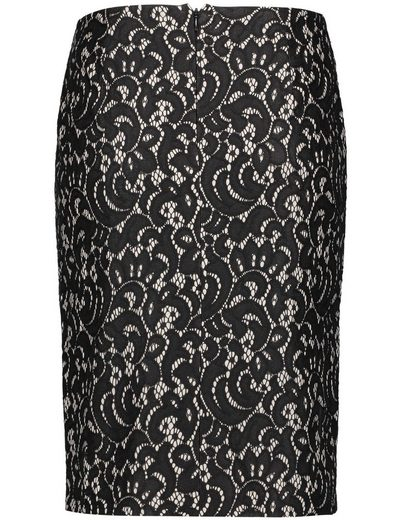 Gerry Weber Rock G Short Skirt With Lace Optics