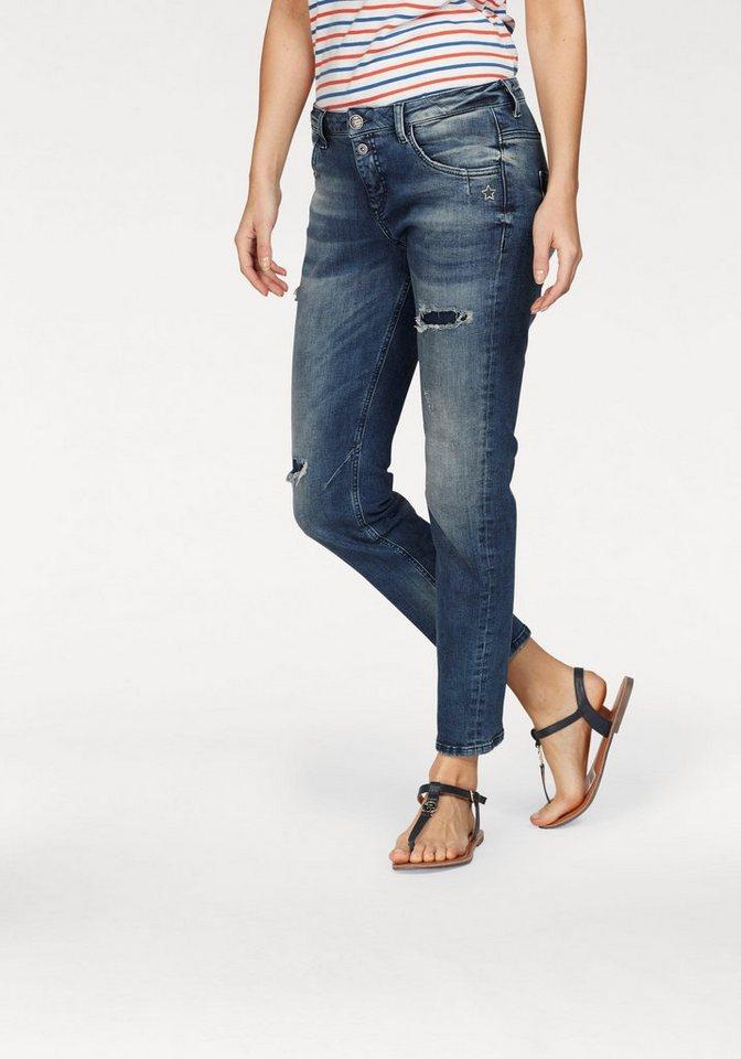 gl cksstern boyfriend jeans daisy trendige used effekte online kaufen otto. Black Bedroom Furniture Sets. Home Design Ideas