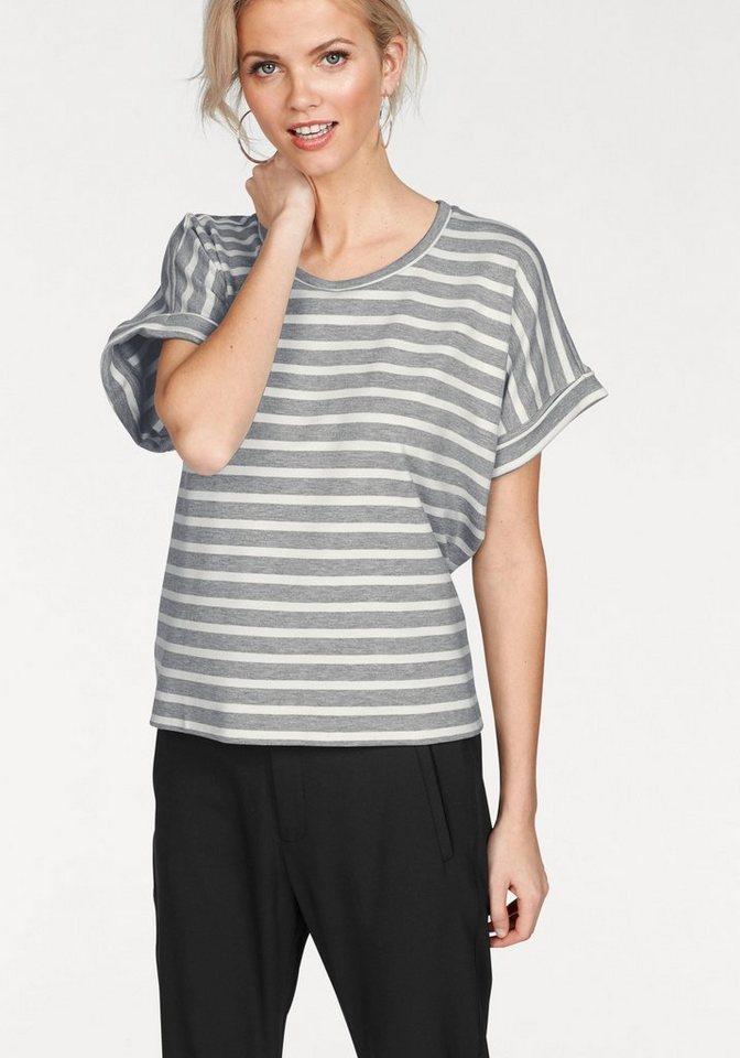 InWear Oversize-Shirt in moderner Streifenoptik | Bekleidung > Shirts > Oversize-Shirts | Grau | InWear