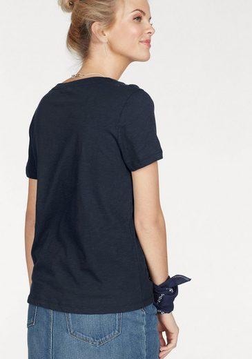 Tommy Hilfiger T-Shirt, mit aufgesticktem Schriftzug