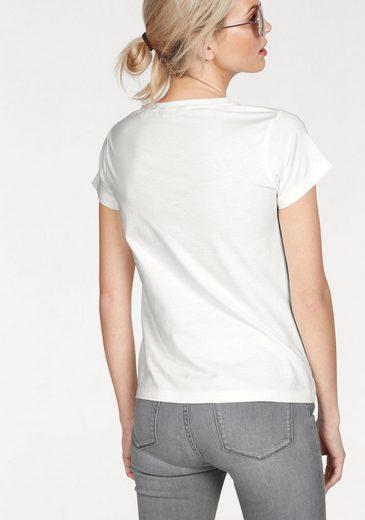 Gant T-Shirt, mit Logo-Print vorne