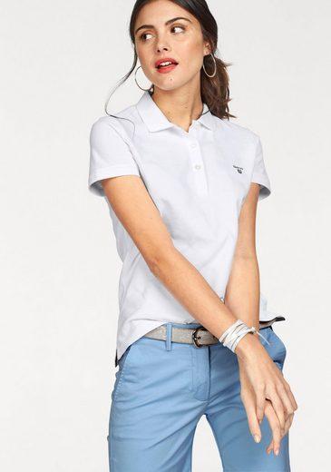 Gant Poloshirt, mit dezenter Logo-Stickerei auf der Brust