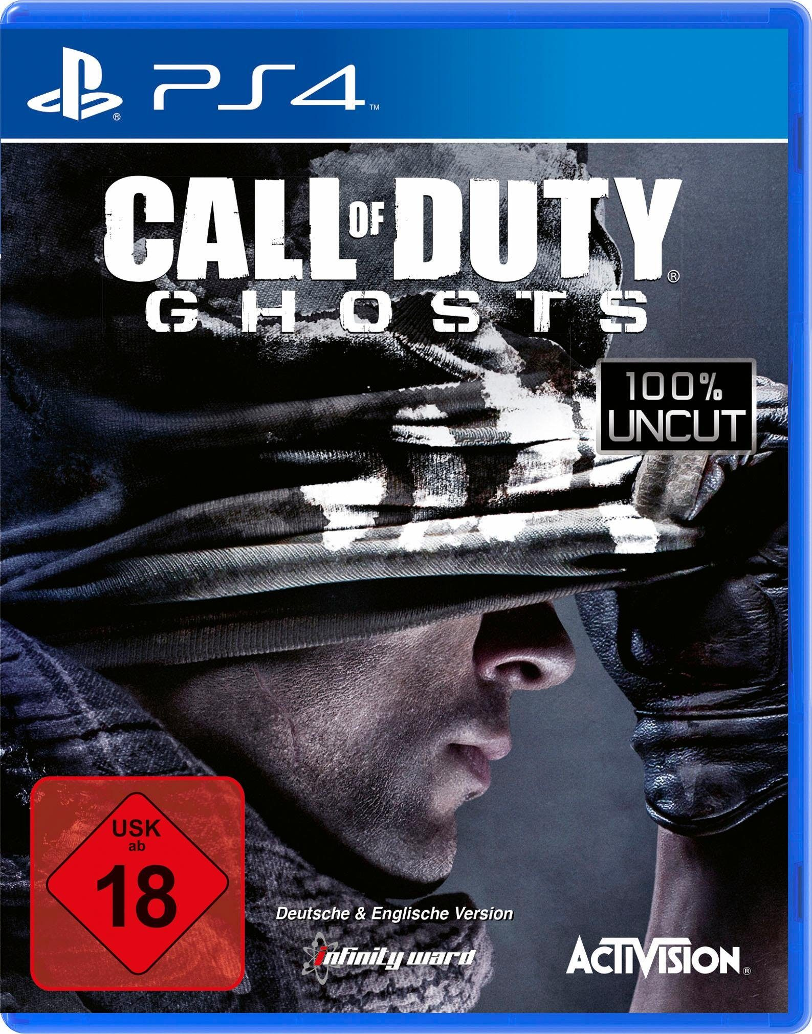 Call of Duty: Ghosts PlayStation 4, Software Pyramide