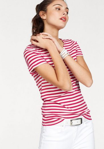 Gant T-shirt, With A Cool Stripe Look