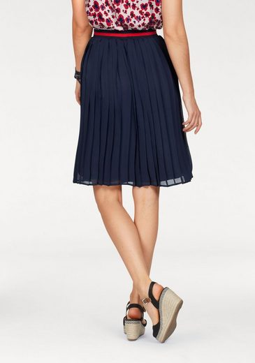 Broadway Nyc Fashion Pleated Skirt Allie, With Great Marigold Cuffs