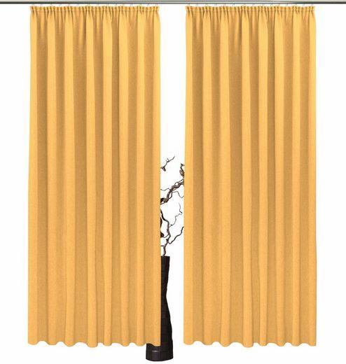 Vorhang »Una«, VHG, Kräuselband (2 Stück)