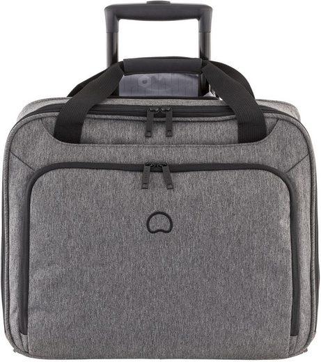 Delsey Business-Trolley »Esplanade, anthrazit«, 2 Rollen, mit 15,6-Zoll Laptopfach