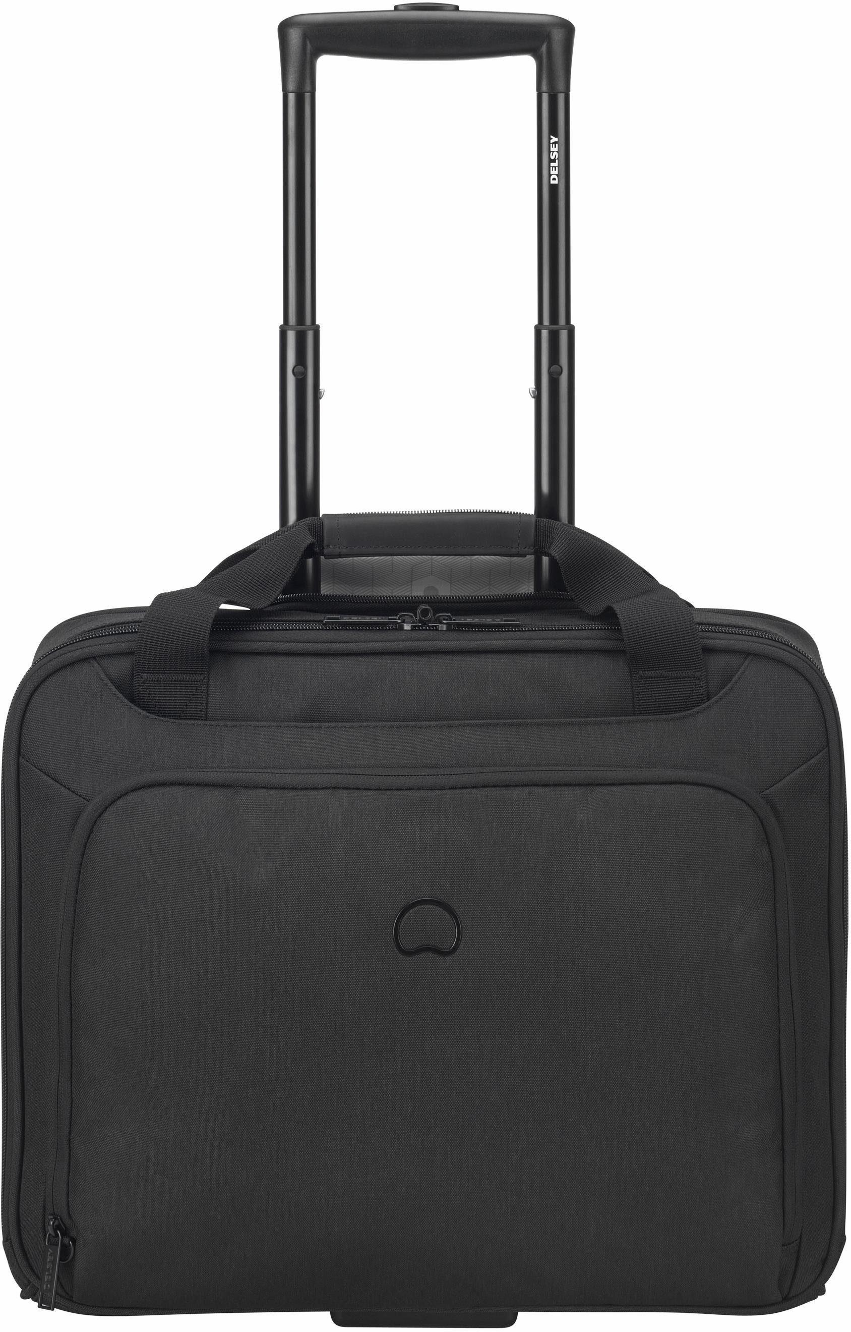 DELSEY Businesstrolley, mit 15,6-Zoll Laptopfach, »Esplanade, schwarz«