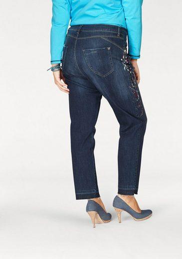No Secret Skinny-fit-Jeans, mit Paint-Details