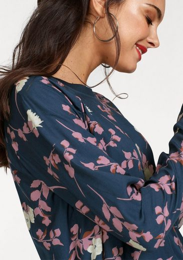 minimum Schlupfbluse Dorethe blouse, mit bedrucktem Blumenprint