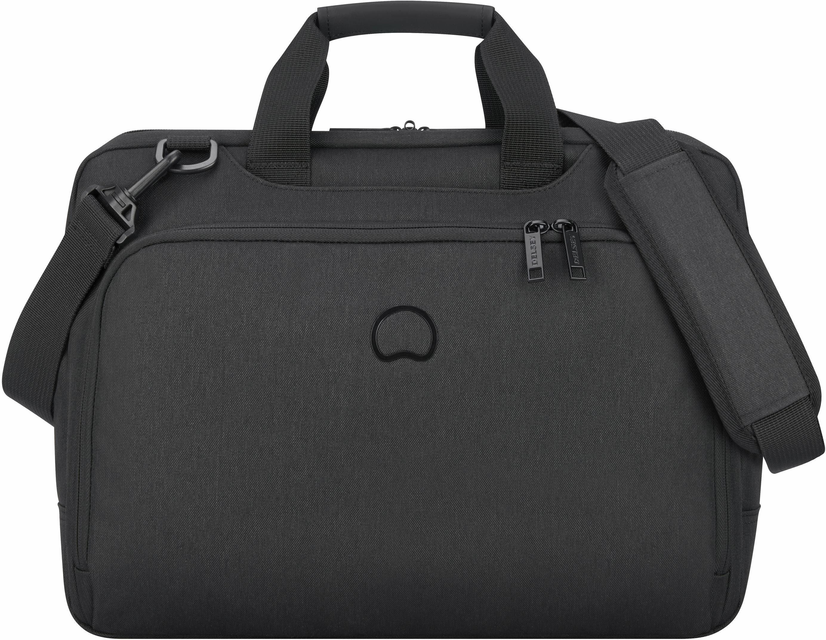 DELSEY Aktentasche mit 15,6-Zoll Laptopfach, »Esplanade, 2 Fächer, schwarz«