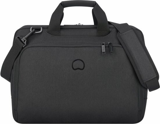 Delsey Aktentasche »Esplanade, 2 Fächer, schwarz«, mit 15,6-Zoll Laptopfach