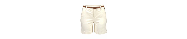 Tom Tailor Polo Team Shorts (Set, 2 tlg., mit Gürtel in Lederoptik), inklusive schmalem Gürtel