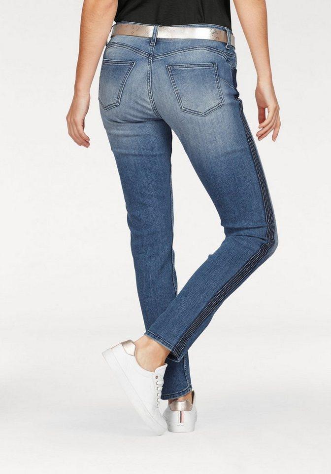 gl cksstern stretch jeans camelita seitlicher. Black Bedroom Furniture Sets. Home Design Ideas