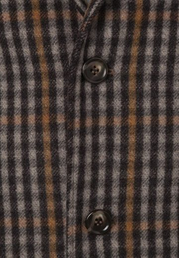 East London Club Sacrament In Check Pattern With Elbow Patches