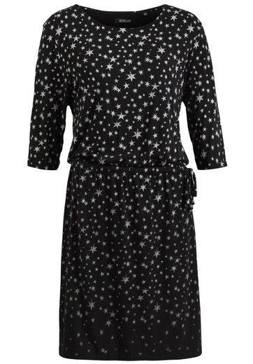 Khujo Jersey Dress Luwae, With Lacing At The Waist Bund