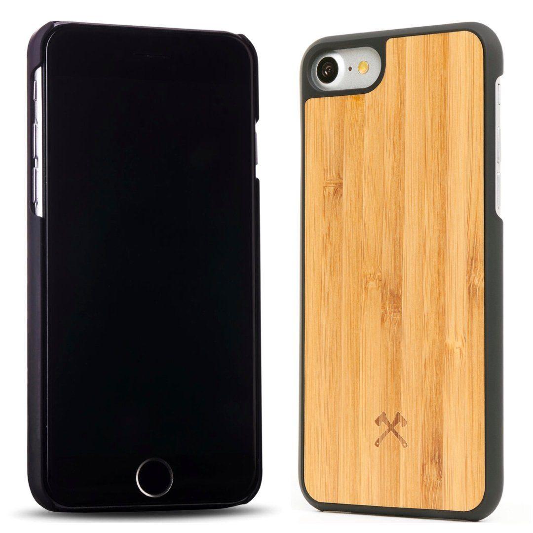Woodcessories EcoCase Casual iPhone 6(s) Plus (Bambus / Schwarz)