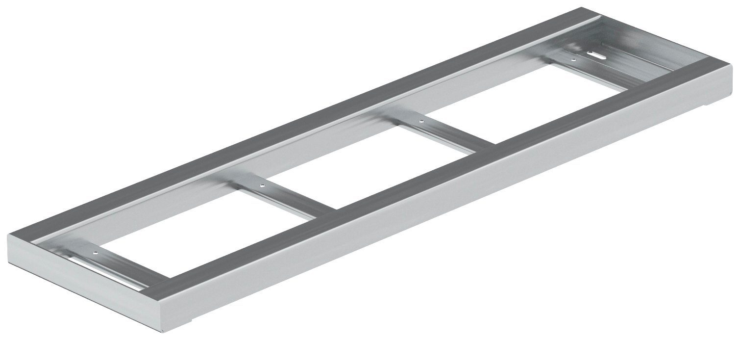 DOLLE Metallstufe »Gardentop«, zum Einlegen von Holz oder WPC, BxTxH: 80x22x3 cm
