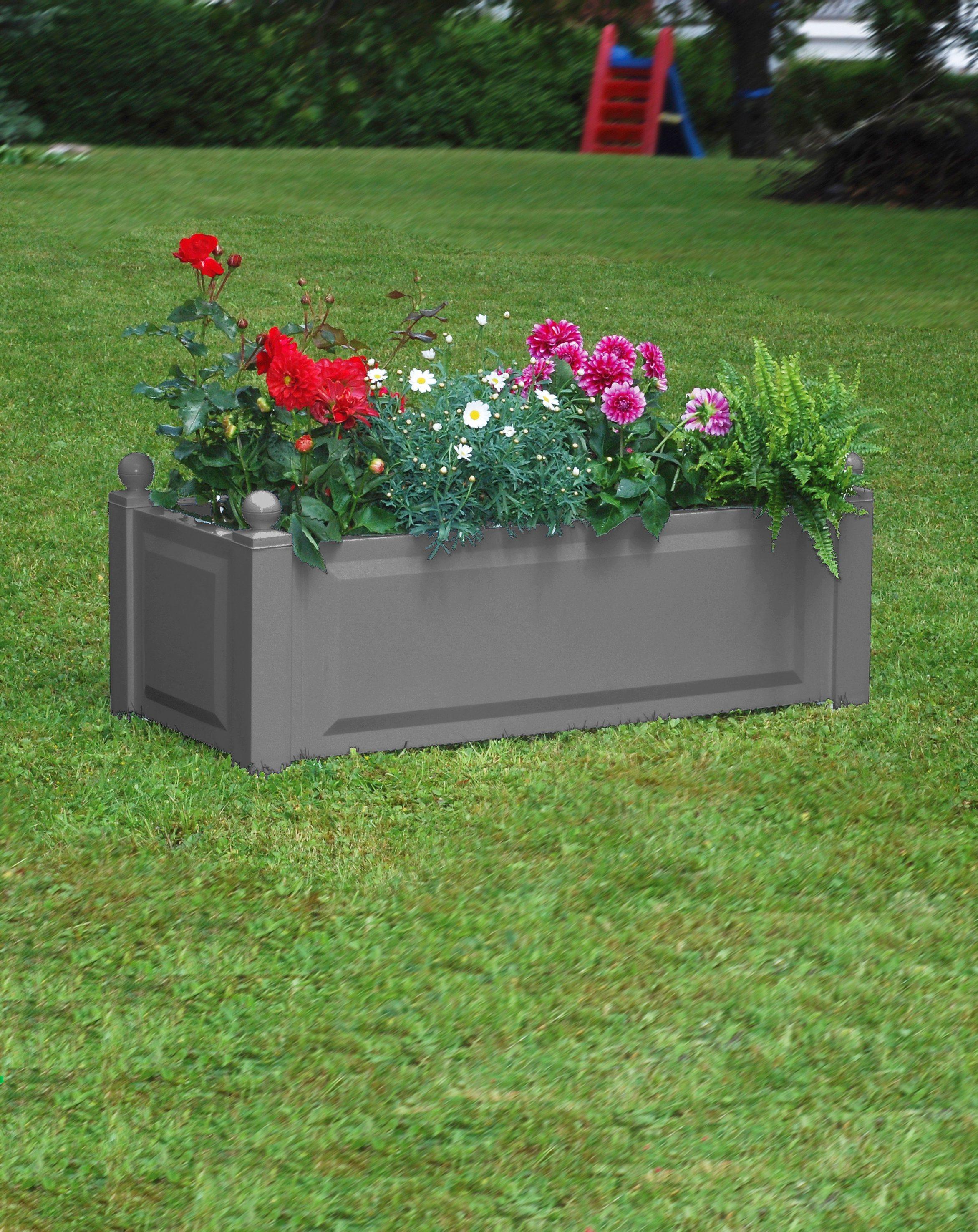KHW Pflanzkasten , BxTxH:100x43x41 cm | Garten > Pflanzen > Pflanzkästen | Matt | Baumhaus Verlag