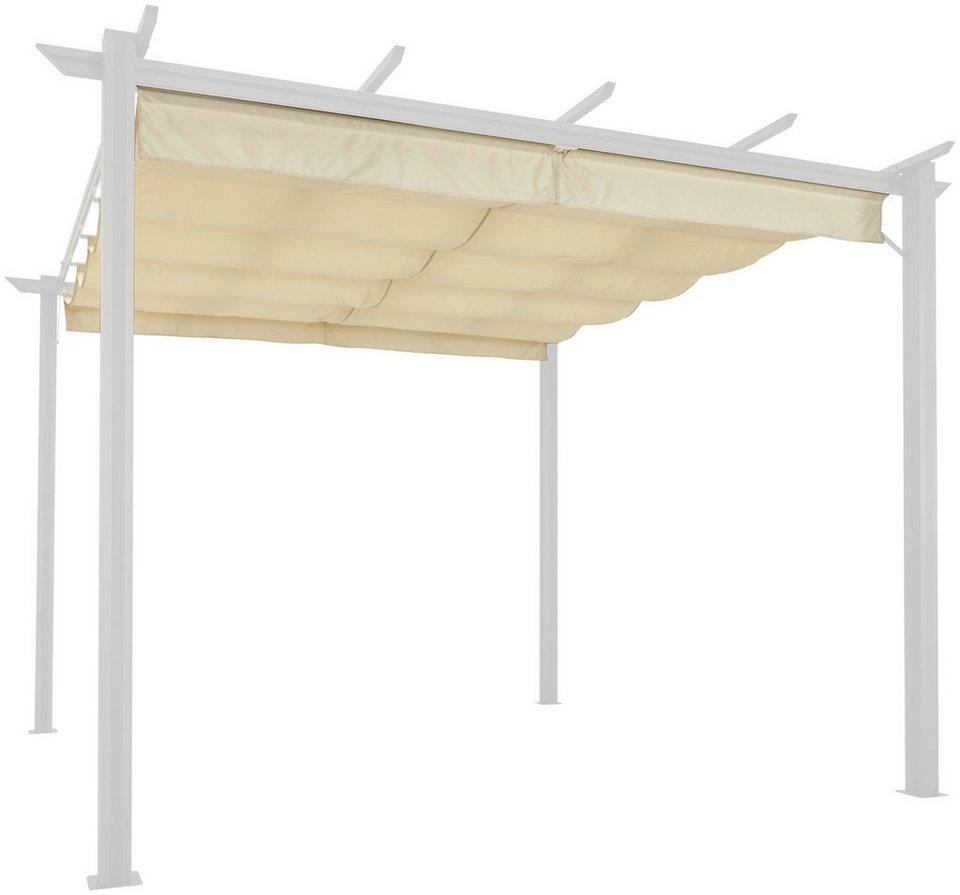 Ersatzdach für Pavillon »Aluminium«, BxL: 300x400 cm, sandfarben ...