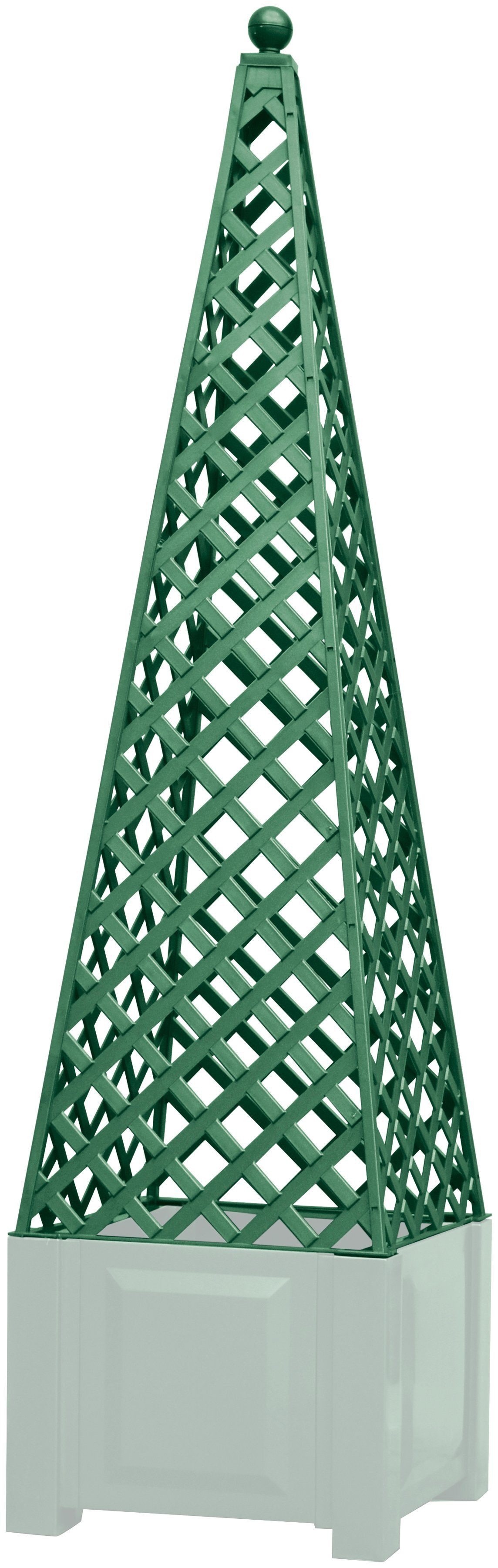 KHW Rankgitter , zum Nachrüsten, grün, BxTxH: 43x43x140 cm